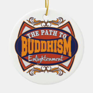 Buddha The Path to Enlightenment Christmas Tree Ornaments