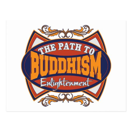 Path To Enlightenment: Buddha The Path To Enlightenment Postcard