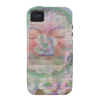 Buddha themed modern  art painting iPhone 4/4S cover