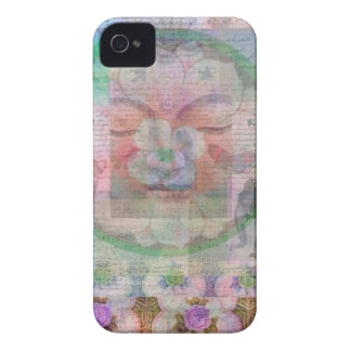 Buddha themed modern  art painting Case-Mate iPhone 4 cases