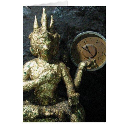 Buddha Time ... Thailand Greeting Card