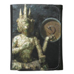 Buddha Time ... Thailand Leather Wallet