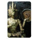 Buddha Time ... Thailand Rectangular Magnets