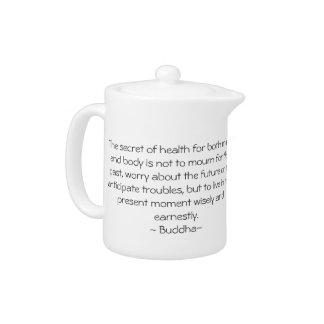 Buddha Tiny Teapot