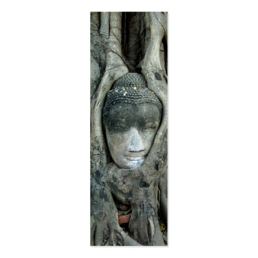 Buddha Tree Bookmark Double-Sided Mini Business Cards (Pack Of 20)