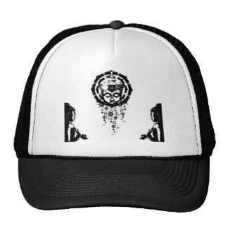 buddha trinity trucker hats