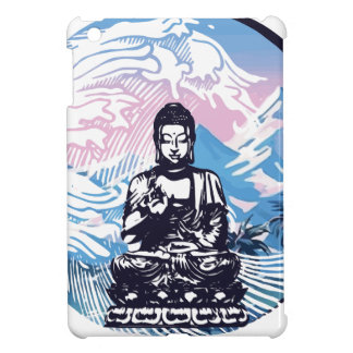 Buddha Tropical Mountain Wave iPad Mini Cover