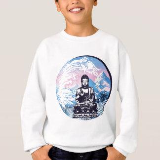 Buddha Tropical Mountain Wave Sweatshirt