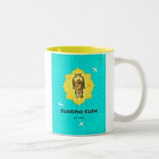 Buddha-tude Two-Tone Coffee Mug