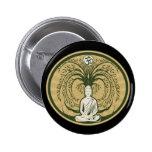 Buddha Under the Bodhi Tree Button