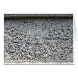 Buddha under the Bodhi tree Greeting Card