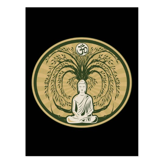 Buddha Under the Bodhi Tree Postcard