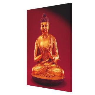 Buddha Vairocana , Tang dynasty Canvas Print