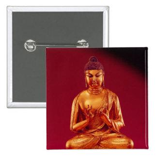 Buddha Vairocana , Tang dynasty Pinback Button