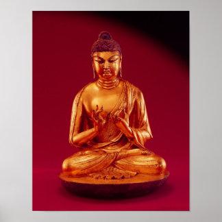Buddha Vairocana , Tang dynasty Poster