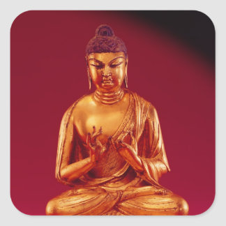 Buddha Vairocana , Tang dynasty Square Sticker