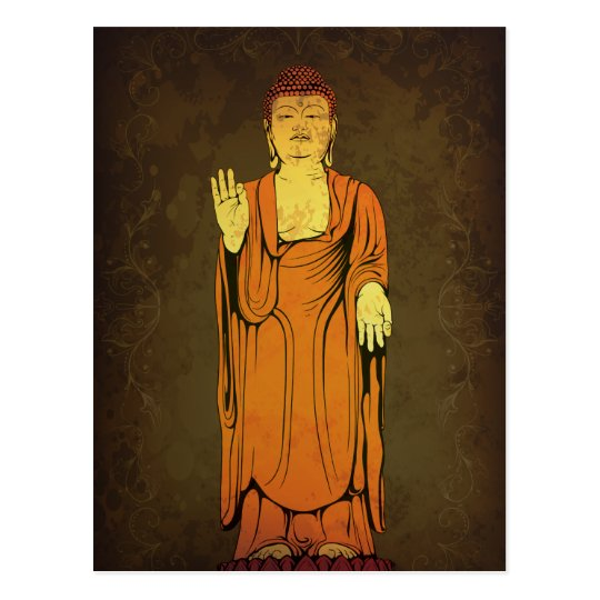 Buddha Vitarka Mudra Postcard