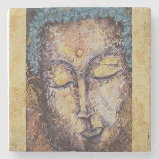 Buddha Watercolor Art Stone Coaster