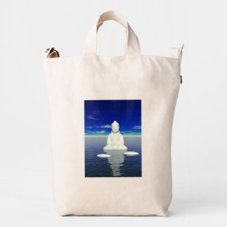 buddha white and two steps duck bag