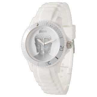 Buddha white relojes