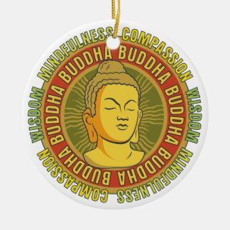 Buddha Wisdom Christmas Tree Ornaments