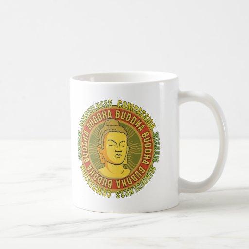 Buddha Wisdom Classic White Coffee Mug