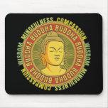 Buddha Wisdom Mouse Pad