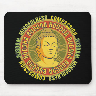 Buddha Wisdom Mouse Pads