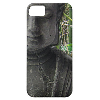 Buddha with bamboo iPhone 5 covers