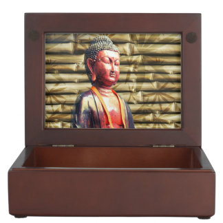 Buddha with Bamboo Keepsake Box