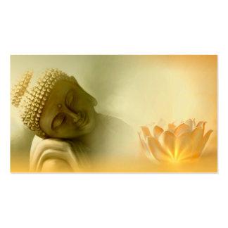 Buddha with Lotus buisness card Business Card