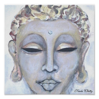 BUDDHA YIN - WHITTY ART Poster