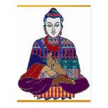 BUDDHA Yoga Meditation Religion Buddhism USA Postcards