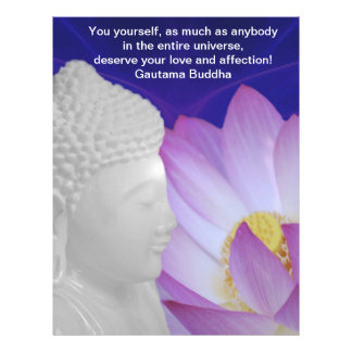 Buddha Your Love and affection Letterhead