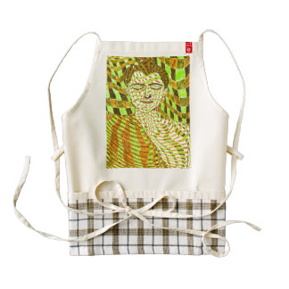 Buddha Zazzle HEART Apron