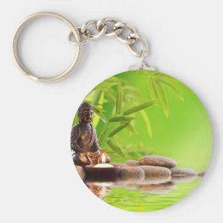 buddha zen serenity garden key chain