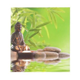 buddha zen serenity garden memo pads