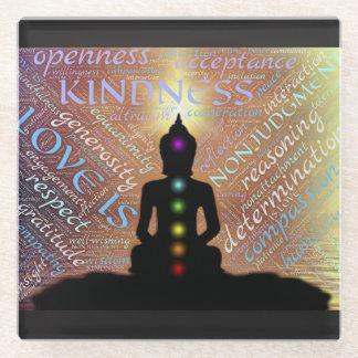 Buddha Zen Spiritual Enlightenment Love Coaster