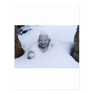buddhainsnow.jpg postcard