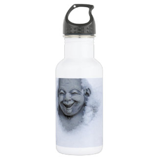 buddhainsnow.jpg stainless steel water bottle