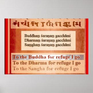 Buddham Saranam Gacchami Poster
