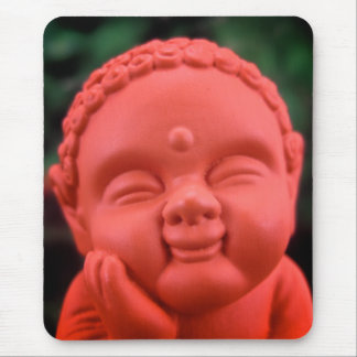 BuddhaMousepad anaranjado Tapete De Raton