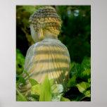 Buddha's back print