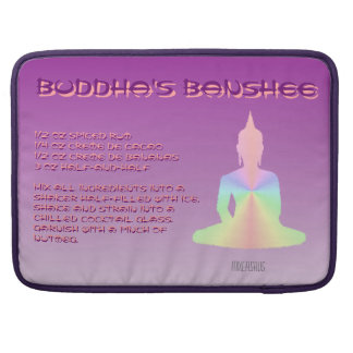 Buddha's Banshee Drink Recipe Sleeve For MacBook Pro