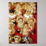 Buddhas de risa chino impresiones