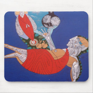 Buddhas Dream by Gregory Gallo Mouse Pad