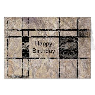 Buddha's Eye Happy Birthday Card