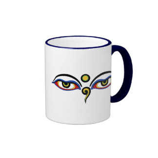 Buddha's Eyes Coffee Mug
