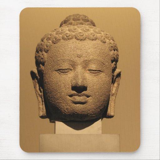 Buddha's head Mousepad
