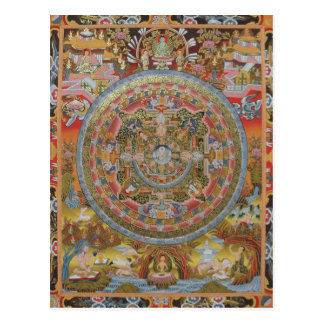 Buddha's Life Postcard